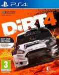 Dirt 4 Издание первого дня Ps4