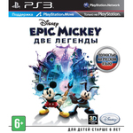 Disney Epic Mickey 2: The Power of Two (Две Легенды) с поддержкой PlayStation Move с поддержкой 3D PS3 б/у