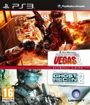 Ghost Recon: Advanced Warfighter 2 + Rainbow Six Vegas 2 Double Pack PS3 б/у